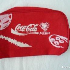 Coleccionismo de Coca-Cola y Pepsi: 1 NECESER COCA COLA EUROCOPA 2004 PORTUGAL NUEVO SIN USAR. Lote 178188146