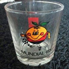 Coleccionismo de Coca-Cola y Pepsi: VASO NARANJITO MUNDIAL 82. NUMERO 4. COCA COLA.. Lote 178735080