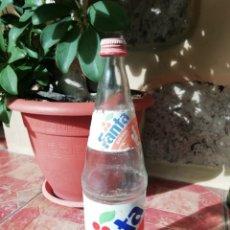 Coleccionismo de Coca-Cola y Pepsi: ANTIGUA BOTELLA REFRESCO GASESOA FANTA COCA COLA LITRO TAPON ROSCA METALICO NARANJA.. Lote 180275300