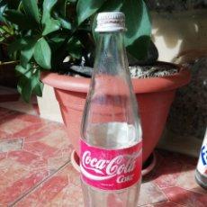 Coleccionismo de Coca-Cola y Pepsi: ANTIGUA BOTELLA REFRESCO GASEOSA COCA COLA TAPON ROSCA METALICO LITRO AÑOS 80 Y 90. Lote 180275560