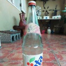 Coleccionismo de Coca-Cola y Pepsi: ANTIGUA BOTELLA REFRESCO GASEOSA FANTA NARANJA COCA COLA PROMOCION 55 PESETAS TAPON ROSCA METALICO. Lote 180276400