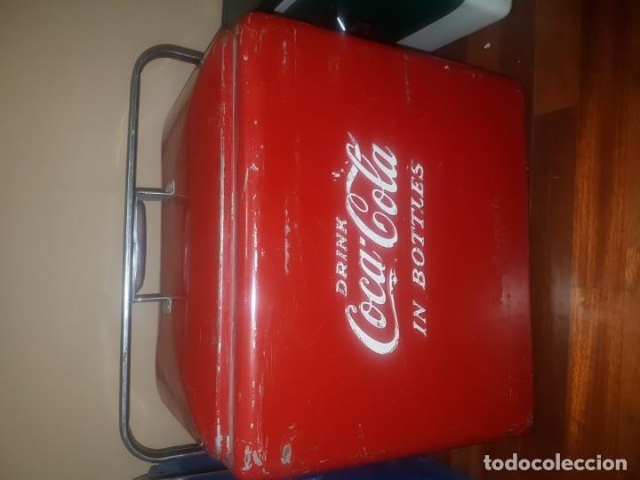 NEVERA COCA - COLA (Coleccionismo - Botellas y Bebidas - Coca-Cola y Pepsi)
