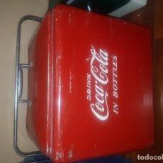 Coleccionismo de Coca-Cola y Pepsi: NEVERA COCA - COLA ANTIGUA. Lote 180291722