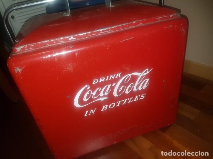 Coleccionismo de Coca-Cola y Pepsi: Nevera Coca - Cola - Foto 3 - 180291722
