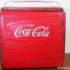 Coleccionismo de Coca-Cola y Pepsi: NEVERA COCA COLA PORTATIL. Lote 180337662