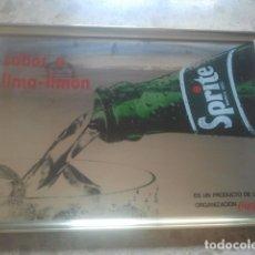 Coleccionismo de Coca-Cola y Pepsi: SPRITE - SABOR A LIMA-LIMÓN - PRODUCTO COCA-COLA - ANTIGUO ESPEJO PUBLICITARIO - IDEAL DECORACIÓN. Lote 180338447