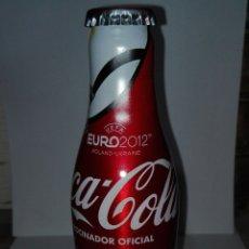 Coleccionismo de Coca-Cola y Pepsi: BOTELLA ALUMINIO MONOBLOCK COCA COLA UEFA EURO 2012 POLAND UKRAINE SIN ABRIR OEOEOE . Lote 180426011