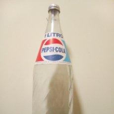 Coleccionismo de Coca-Cola y Pepsi: BOTELLA PEPSI COLA ETIQUETA. Lote 180910532