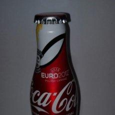 Coleccionismo de Coca-Cola y Pepsi: BOTELLA ALUMINIO MONOBLOCK COCA COLA UEFA EURO 2012 POLAND UKRAINE SIN ABRIR OEOEOE . Lote 181152183