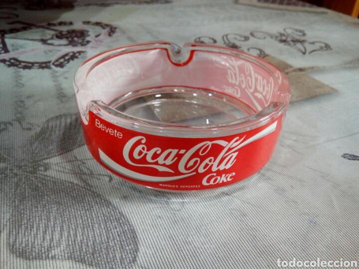 Coleccionismo de Coca-Cola y Pepsi: CENICERO CRISTAL COCA COLA - Foto 3 - 181585431