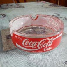 Coleccionismo de Coca-Cola y Pepsi: CENICERO CRISTAL COCA COLA. Lote 181585431