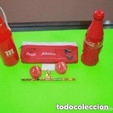 Coleccionismo de Coca-Cola y Pepsi: LOTE DE COSAS DE LA COCA-COLA. Lote 181718368