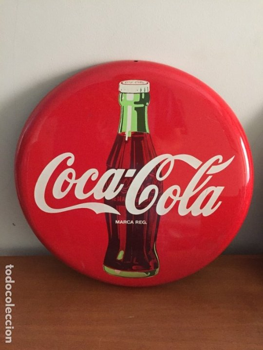CARTEL PUBLICIDAD COCA COLA (Coleccionismo - Botellas y Bebidas - Coca-Cola y Pepsi)
