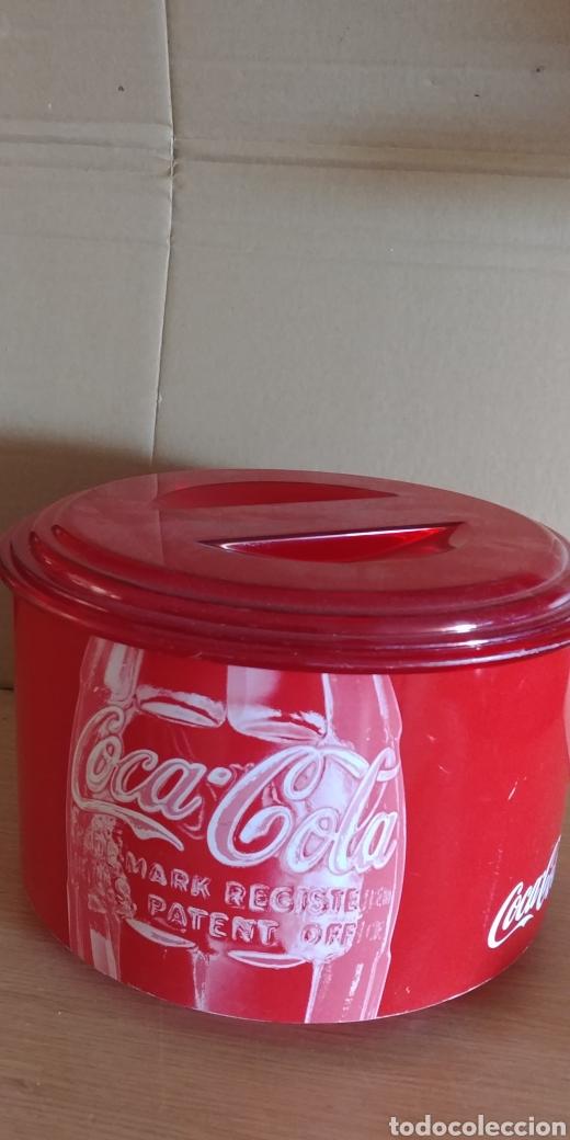 CUBITERA COCA COLA CON USO (Coleccionismo - Botellas y Bebidas - Coca-Cola y Pepsi)