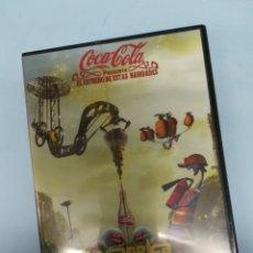 Coleccionismo de Coca-Cola y Pepsi: LA FABRICA DE LA FELICIDAD COCA-COLA DVD #PV. Lote 182614021