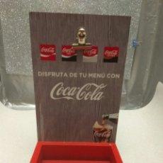Coleccionismo de Coca-Cola y Pepsi: COCA-COLA EXPOSITOR CONTENEDOR DE MADERA. Lote 182781755