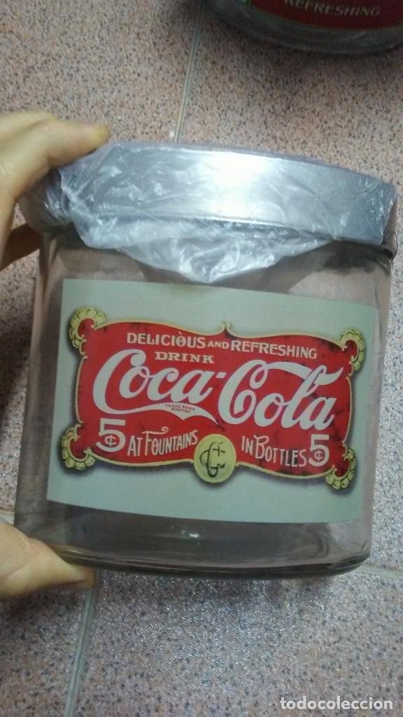 Coleccionismo de Coca-Cola y Pepsi: 8 FRASCOS DE CRISTAL COCA COLA - Foto 3 - 182810511