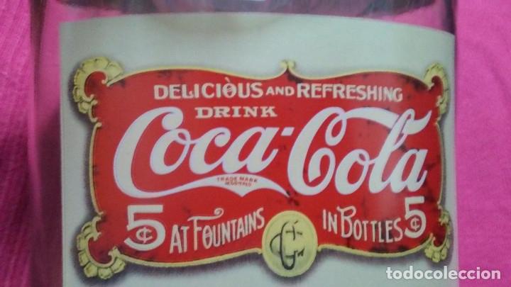 Coleccionismo de Coca-Cola y Pepsi: 8 FRASCOS DE CRISTAL COCA COLA - Foto 5 - 182810511