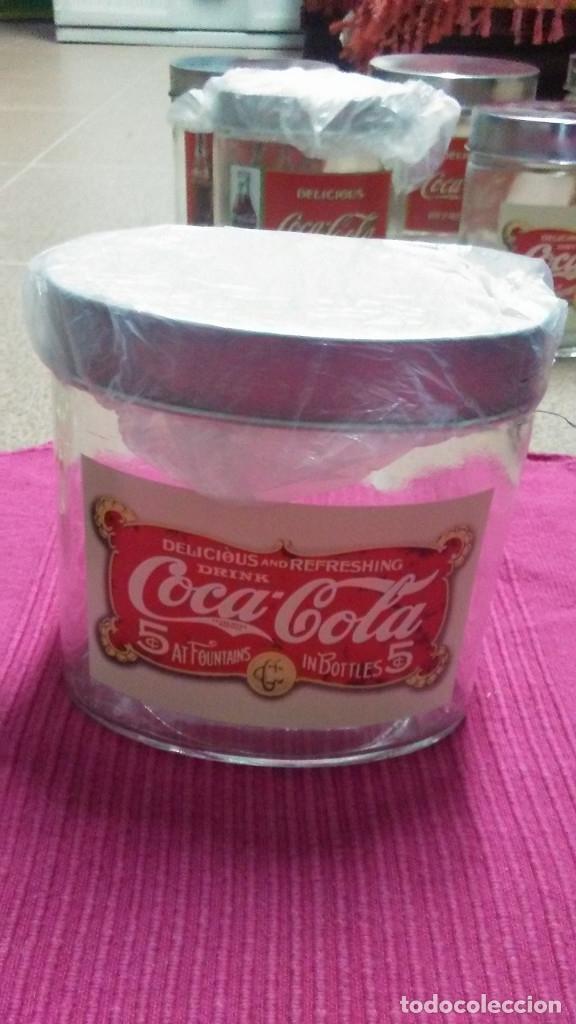 Coleccionismo de Coca-Cola y Pepsi: 8 FRASCOS DE CRISTAL COCA COLA - Foto 7 - 182810511