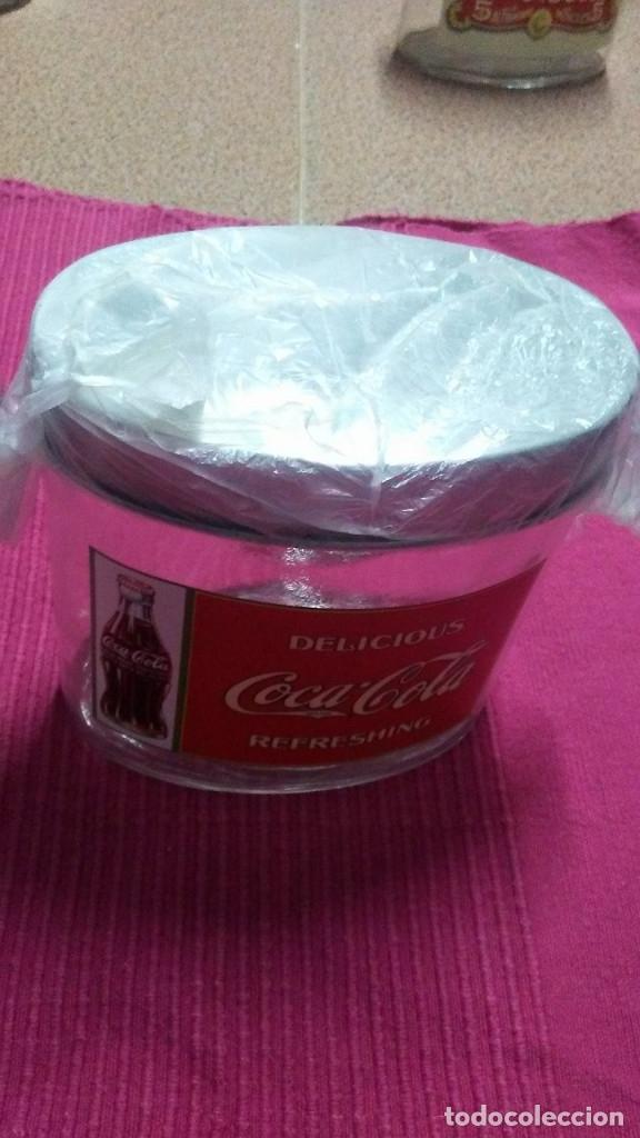 Coleccionismo de Coca-Cola y Pepsi: 8 FRASCOS DE CRISTAL COCA COLA - Foto 9 - 182810511