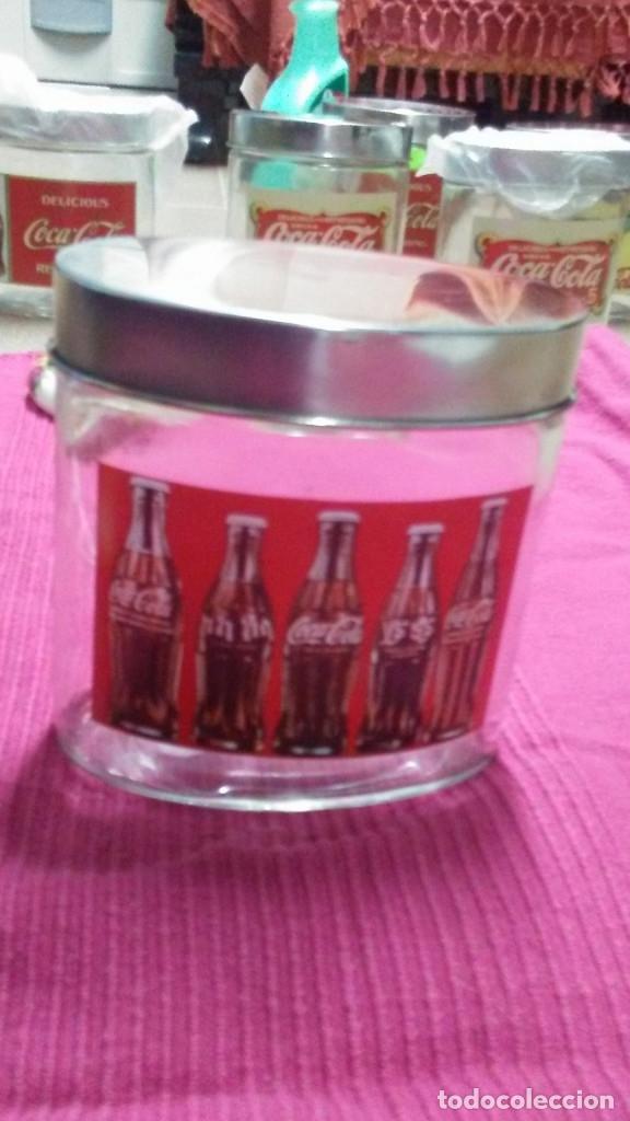 Coleccionismo de Coca-Cola y Pepsi: 8 FRASCOS DE CRISTAL COCA COLA - Foto 13 - 182810511
