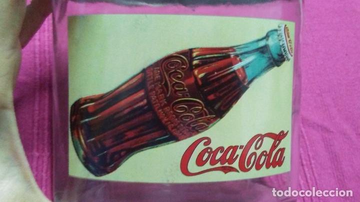 Coleccionismo de Coca-Cola y Pepsi: 8 FRASCOS DE CRISTAL COCA COLA - Foto 15 - 182810511