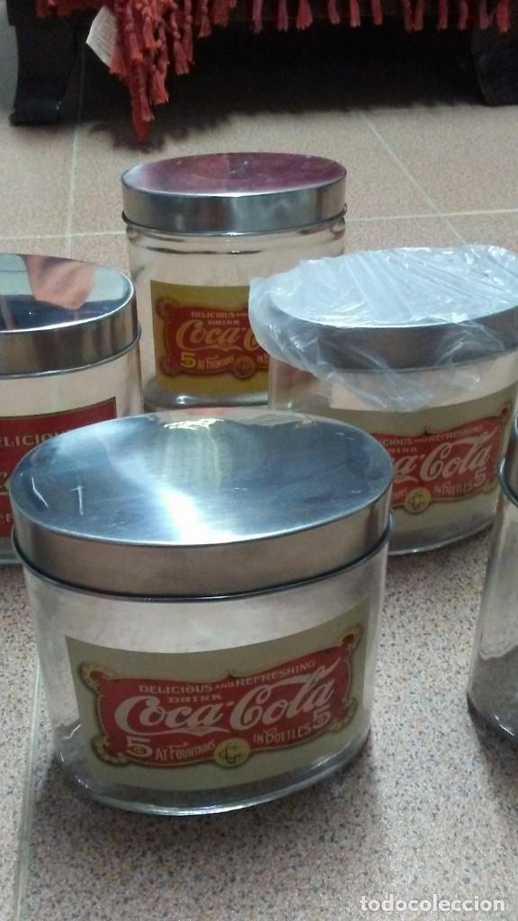 Coleccionismo de Coca-Cola y Pepsi: 8 FRASCOS DE CRISTAL COCA COLA - Foto 20 - 182810511