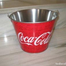 Coleccionismo de Coca-Cola y Pepsi: CUBITERA METALICA DE COCA COLA. Lote 182892452