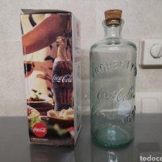 Coleccionismo de Coca-Cola y Pepsi: REPLICA ANTIGUA BOTELLA COCA-COLA HUTCHINSON. Lote 183205352