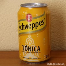 Coleccionismo de Coca-Cola y Pepsi: LATA SCHWEPPES TONICA. 33CL. CAN BOTE . Lote 183991422