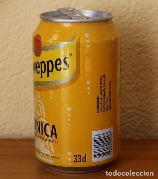 Coleccionismo de Coca-Cola y Pepsi: LATA SCHWEPPES TONICA. 33CL. CAN BOTE - Foto 2 - 183991422