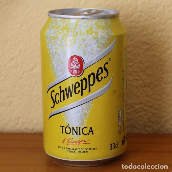LATA SCHWEPPES TONICA. 33CL. CAN BOTE (Coleccionismo - Botellas y Bebidas - Coca-Cola y Pepsi)