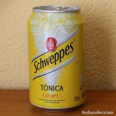 Coleccionismo de Coca-Cola y Pepsi: LATA SCHWEPPES TONICA. 33CL. CAN BOTE . Lote 183991575
