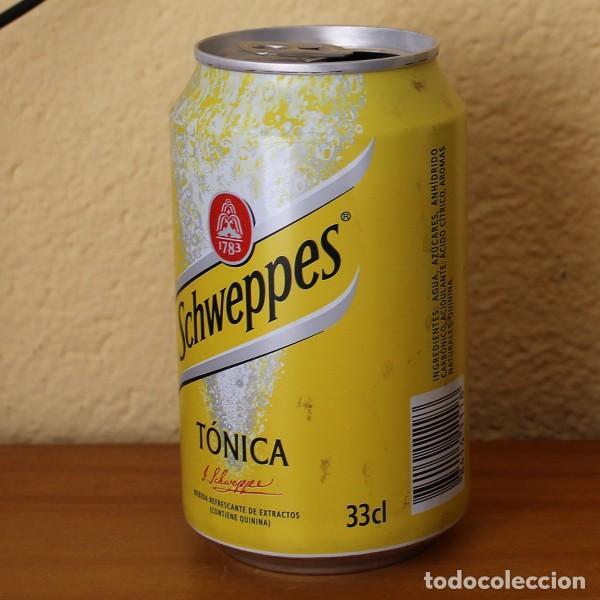 Coleccionismo de Coca-Cola y Pepsi: LATA SCHWEPPES TONICA. 33CL. CAN BOTE - Foto 2 - 183991575