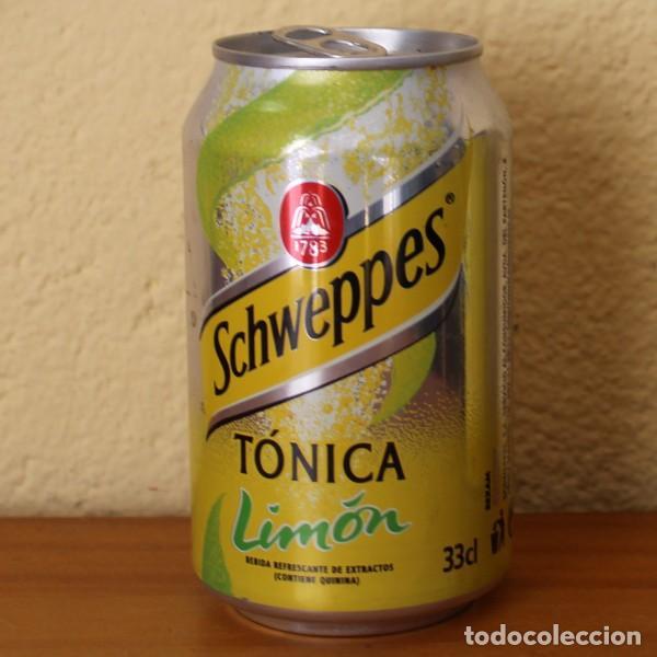 LATA SCHWEPPES TONICA LIMON. 33CL. CAN BOTE (Coleccionismo - Botellas y Bebidas - Coca-Cola y Pepsi)