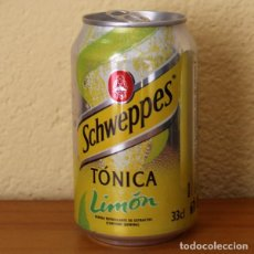 Coleccionismo de Coca-Cola y Pepsi: LATA SCHWEPPES TONICA LIMON. 33CL. CAN BOTE . Lote 183991728