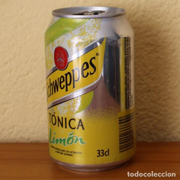 Coleccionismo de Coca-Cola y Pepsi: LATA SCHWEPPES TONICA LIMON. 33CL. CAN BOTE - Foto 2 - 183991728