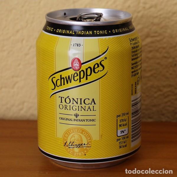 LATA SCHWEPPES TONICA ORIGINAL INDIAN TONIC. 25CL. CAN BOTE (Coleccionismo - Botellas y Bebidas - Coca-Cola y Pepsi)