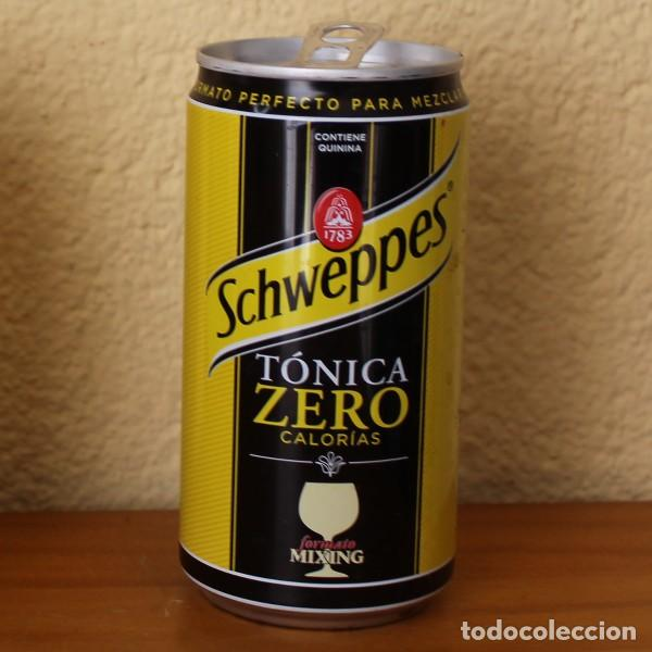 LATA SCHWEPPES TONICA ZERO CALORIAS. 25CL. CAN BOTE (Coleccionismo - Botellas y Bebidas - Coca-Cola y Pepsi)