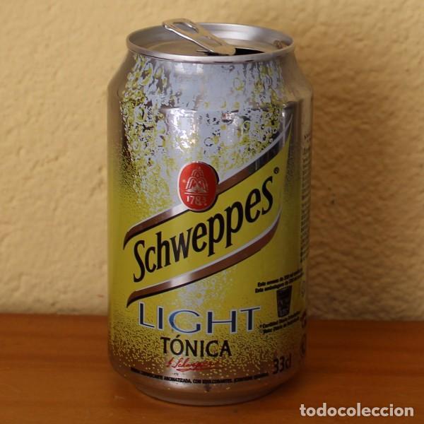 LATA SCHWEPPES TONICA LIGHT. 33CL. CAN BOTE (Coleccionismo - Botellas y Bebidas - Coca-Cola y Pepsi)