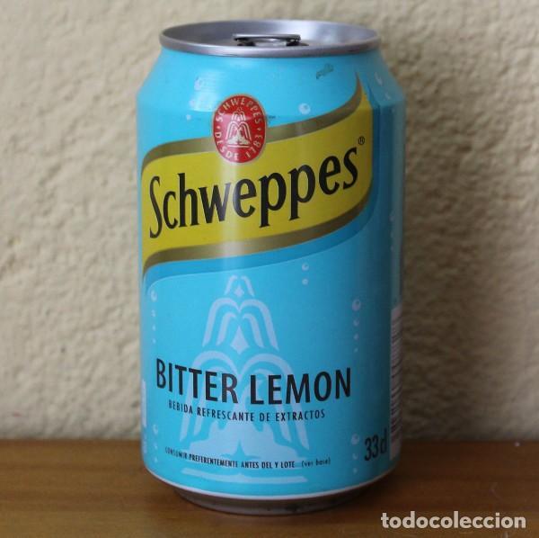 LATA SCHWEPPES BITTER LEMON. 33CL. CAN BOTE (Coleccionismo - Botellas y Bebidas - Coca-Cola y Pepsi)