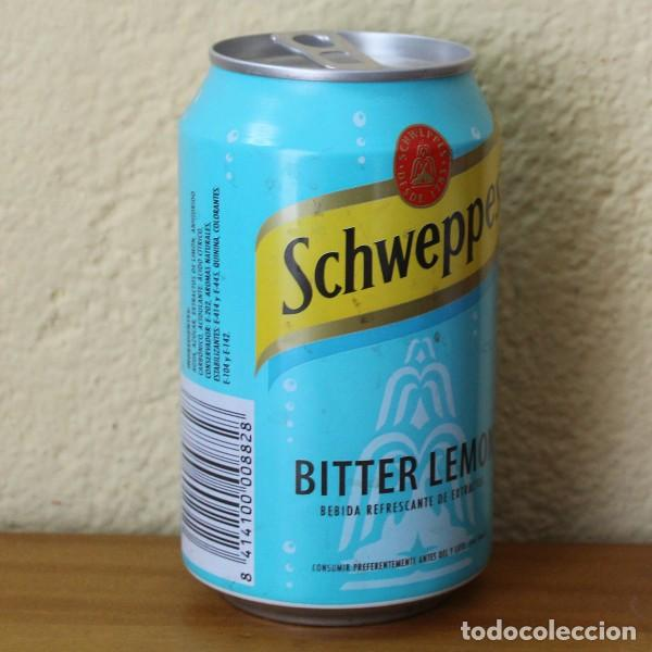Coleccionismo de Coca-Cola y Pepsi: LATA SCHWEPPES BITTER LEMON. 33CL. CAN BOTE - Foto 2 - 184108935