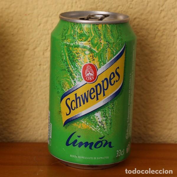 LATA SCHWEPPES LIMON. 33CL. CAN BOTE (Coleccionismo - Botellas y Bebidas - Coca-Cola y Pepsi)