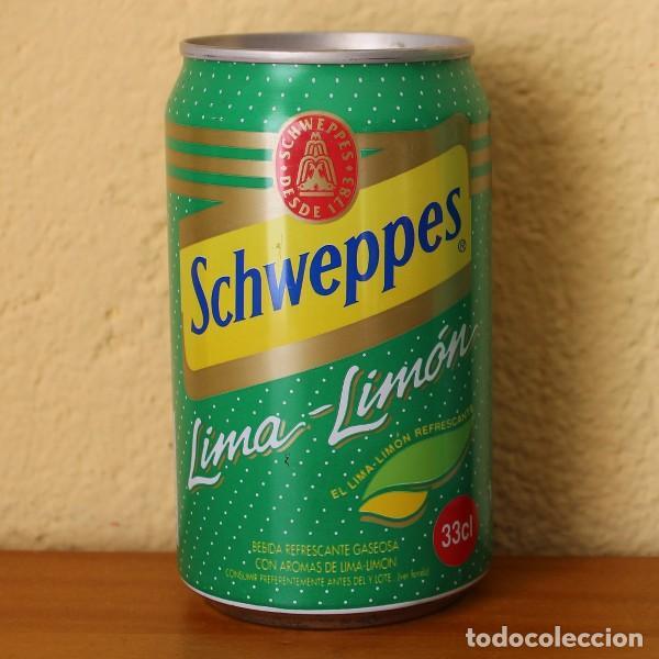 LATA SCHWEPPES LIMA-LIMON. 33CL. CAN BOTE (Coleccionismo - Botellas y Bebidas - Coca-Cola y Pepsi)