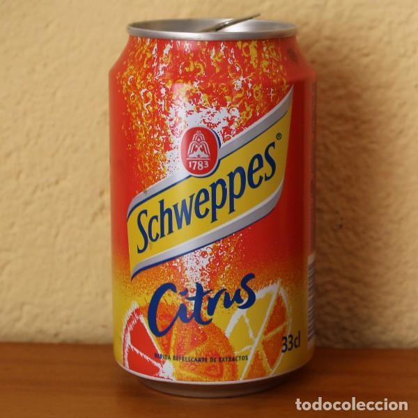 LATA SCHWEPPES CITRUS. 33CL. CAN BOTE (Coleccionismo - Botellas y Bebidas - Coca-Cola y Pepsi)
