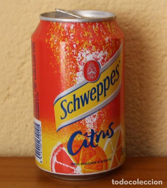 Coleccionismo de Coca-Cola y Pepsi: LATA SCHWEPPES CITRUS. 33CL. CAN BOTE - Foto 2 - 184328531