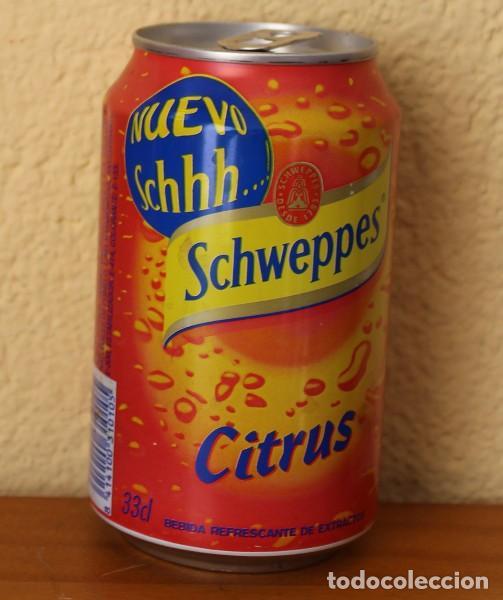 Coleccionismo de Coca-Cola y Pepsi: LATA SCHWEPPES CITRUS NUEVO. 33CL. CAN BOTE - Foto 2 - 184328560