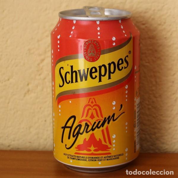 LATA SCHWEPPES AGRUM'. 33CL. CAN BOTE FRANCIA (Coleccionismo - Botellas y Bebidas - Coca-Cola y Pepsi)