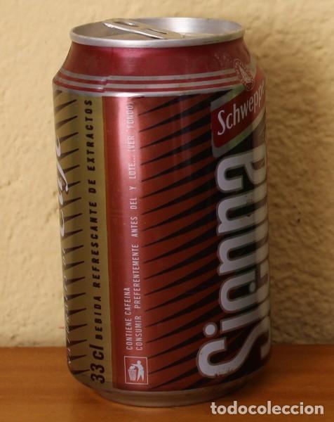 Coleccionismo de Coca-Cola y Pepsi: LATA SCHWEPPES SIENNA CAFE. 33CL. CAN BOTE - Foto 2 - 184328617