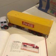 Collezionismo di Coca-Cola e Pepsi: CAMIÓN COCA-COLA. YAXON TRACTOR TRAILER. ITALY, 1970S. Lote 184352961